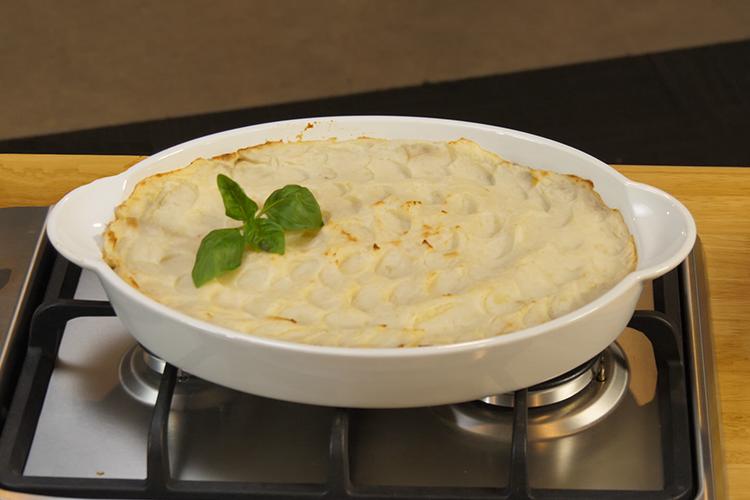 Lentil Potato Top Pie