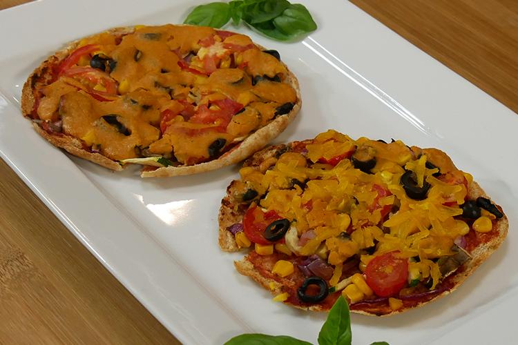 Mini Vegan Pizza
