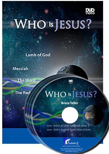 Bruce Telfer - Who Is Jesus - DVD