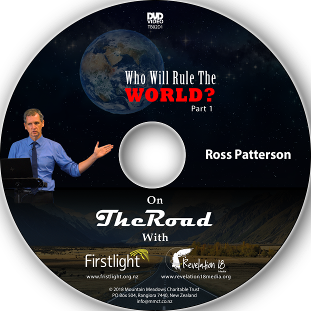 Ross Patterson - Who Will Rule The World - DVD - Paper Sleeve