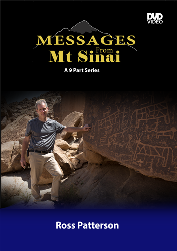 Ross Patterson - Messages From Mt Sinai - DVD - Plastic Case