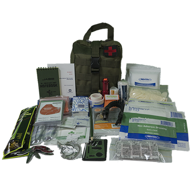 Module 1 - First Aid/Survival kit - GREEN