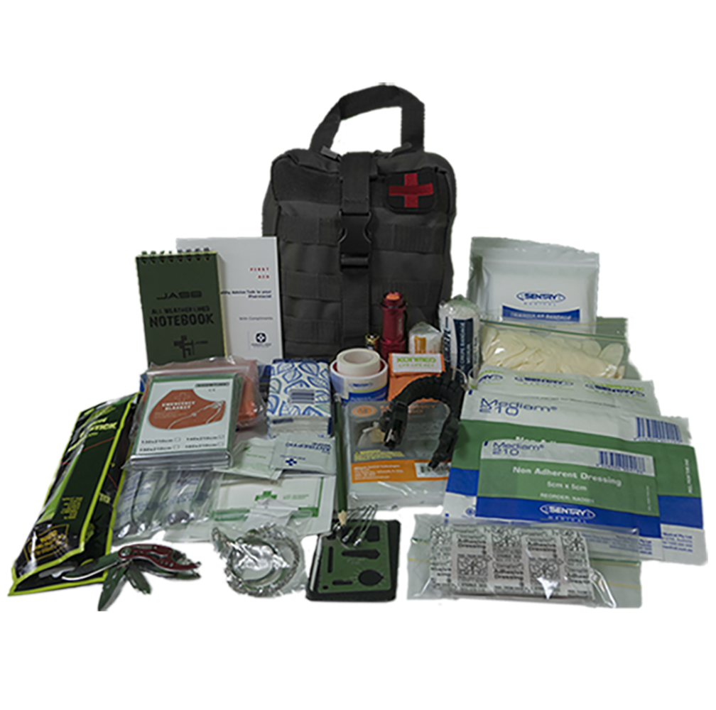 Module 1 - First Aid/Survival kit - BLACK