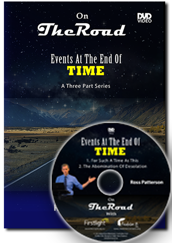 Ross Patterson - Events At The End Of Time - DVD  - Plastic Case